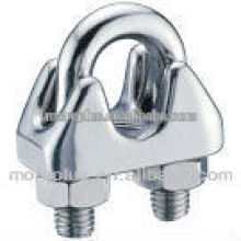Made in Taiwan Steel, Stainless Steel, Copper Standard ou Non-Standard Wire Rope Clip Tipo JIS