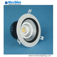 COB Luz de techo empotrada LED COB Downlight