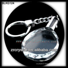 K9 Blank Oval Crystal Keychain for laser engraving BLKG124