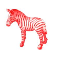 Fábrica de Venda Quente Eco-Friendly Melhor Vinil Bebê Customed Plástico Nova Zebra Brinquedos