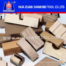 Diamond Cutting Tools Sandwich Segment for Marble Cutting (HZ290)