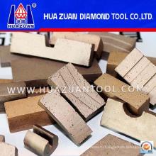 Алмазные режущие инструменты Сегмент сэндвич для резки мрамора (HZ290)