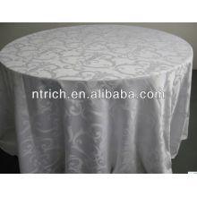 Tissu de table de bonne qualité, nappe jacquard, housse de table damassé