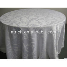 Good quality table cloth, jacquard table cloth, damask table cover
