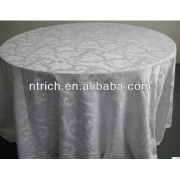 Toalha de mesa de boa qualidade, toalha de mesa jacquard, tampa de tabela do Damasco