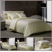 100% algodão 600tc hotel de luxo conjunto de cama (DPFB8001)