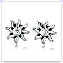 Moda jóias de cristal jóias brinco de aço inoxidável (e0221)