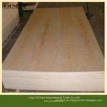 Contrachapado de pino de grado Bb / Cc para muebles