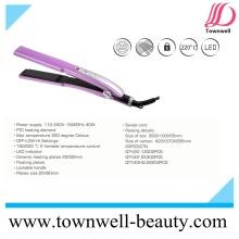 Professional Hair Salon Equipment Ceramic Hair Straightener Manufacturer