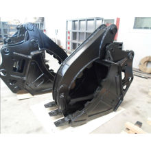 excavator grab bucket, thumbs bucket, bucket grapple for yanmar excavator