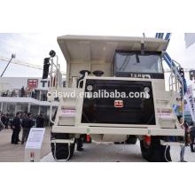 caminhão basculante rígido da mineração do corpo do duto pesado 50 toneladas para a venda