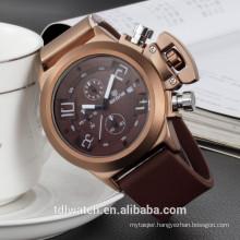 SKONE 5143E Multi functional chronograph quartz movement men watch