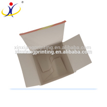 Customize Material! White Card Cosmetic Packaging Box Paper Packaging Boxes