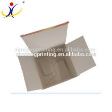 Подгоняйте Материал! Белая Карта Коробка Косметики Упаковывая Бумажная Упаковывая