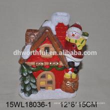 2016 décoration de Noël bougeoir en céramique escalade de la maison