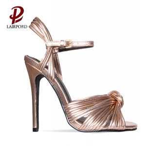 brand high heel fashion summer shoe factory