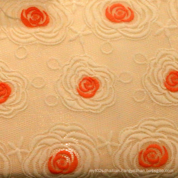Embroidery Textile Polyester Mesh Fabric