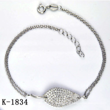 925 pulseira de prata da jóia da forma (K-1834. JPG2)