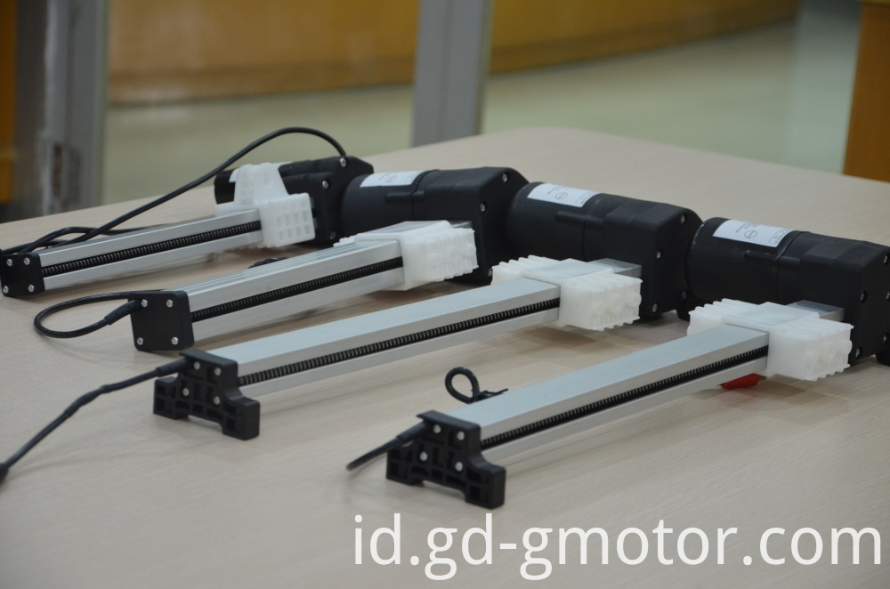quiet linear actuator