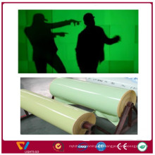 China neue Produkte glühen in der Dunkelheit fluoreszierende Laminierung PVC Papier Blatt Film