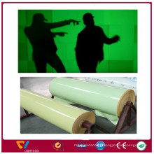 China new products glow in the dark fluorescent laminating pvc paper sheet film