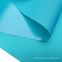 Good Air Tightness 70D Nylon Check WIth TPU Laminated Inflatable Fabric Waterproof