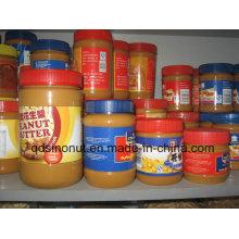 340g Manteiga de amendoim crocante Açúcar natural baixo e gordura