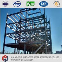 Estructura de acero del edificio de oficinas de gran altura