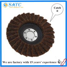 no tejido rápido cambio abrasivo Mini discos de aleta para metal