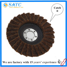 non-woven Quick change abrasive Mini flap discs for metal About