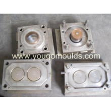 Pail mould with cover