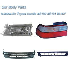 Car Body Parts for Toyota Corrolla, Headlight, Tail Light, Grille, Bumper