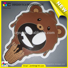 China supplier custom vinyl sticker printing and uv printing vinyl car stickers