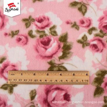 Popular Comfortable Spandex Rayon Polyester Fabric Printed