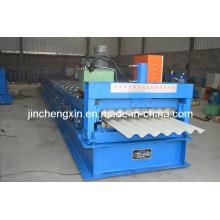 Automatisches galvanisiertes Aluminium farbiges Stahlprofil-Metalldach-Blatt, das Maschine herstellt