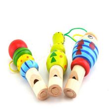 Sifflet en bois fait main pour enfants