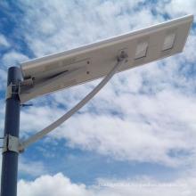 10W-60W tudo em uma luz de rua solar do diodo emissor de luz