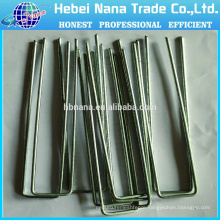 Customized U pins / U-Type Nail Type and Iron Material U Staple/