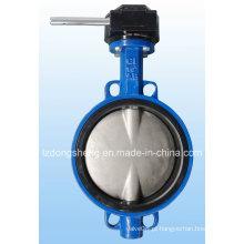 Válvula Borboleta Wafer com Worm Gear Fabricante