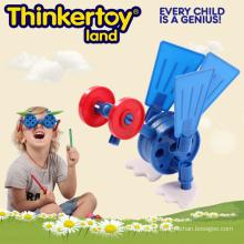 Escola de abastecimento de plástico Plástico Building Blocks Brinquedos