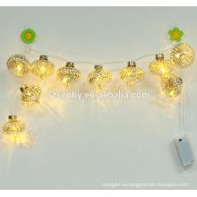 Luces de la bola de la bola del LED, decoración al aire libre de la calle de la Navidad