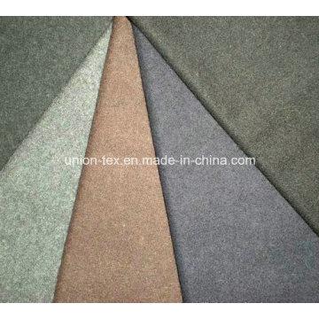 Wool Flannel Fabric for Winter Coat (Art#UW069)