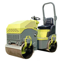 1 ton weight of vibrating roller compactor wholesale