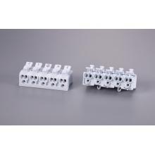 Conectores de fio de botão de liberação de pé fixo de 5 pólos