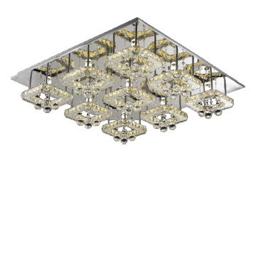internationale led kroonluchter decor kristal plafondlamp