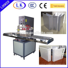 Machine to weld PVC leather folder