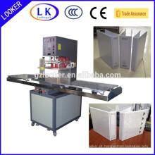 Máquina para soldar pasta de couro de PVC