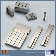 Piezas modificadas para requisitos particulares del corte del alambre de EDM de la precisión para el molde
