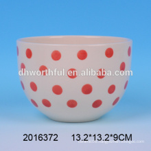 2016 New Arrival Dots Ceramic Nesting Bowl Wholesale
