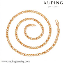 42590-Xuping Jóias de Moda de Alta Qualidade e Novo Design Chians Colar